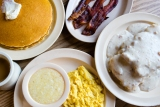 Generous breakfast portions at Old Hickory House. CONTRIBUTED BY HENRI HOLLIS